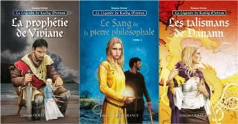 La Légende de Kaelig Morvan - Tomes 1, 2 et 3 (Editions Ouest France - mars 2015 à avril 2016) - trio-legende-kaelig-morvan.jpg - BRUCERO