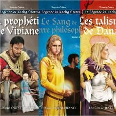 BRUCERO : La Légende de Kaelig Morvan - Tomes 1, 2 et 3 (Editions Ouest France - mars 2015 à avril 2016)