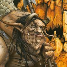 Le Troll gardien du trésor