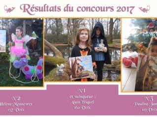Les vainqueurs du Concours Calendrier 2017 - BRUCERO
